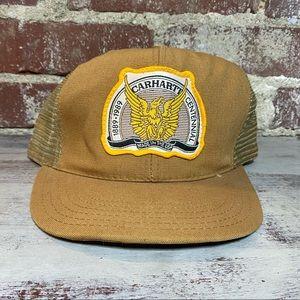 Vintage Carhartt Centennial Hat 1989 Snapback